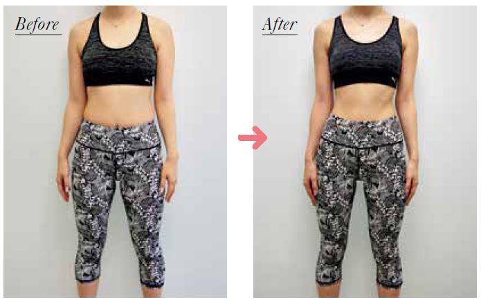 自重筋トレを週2回、3か月続けて9.3kgの減量に成功したAさん(30歳)(プレスリリースより)