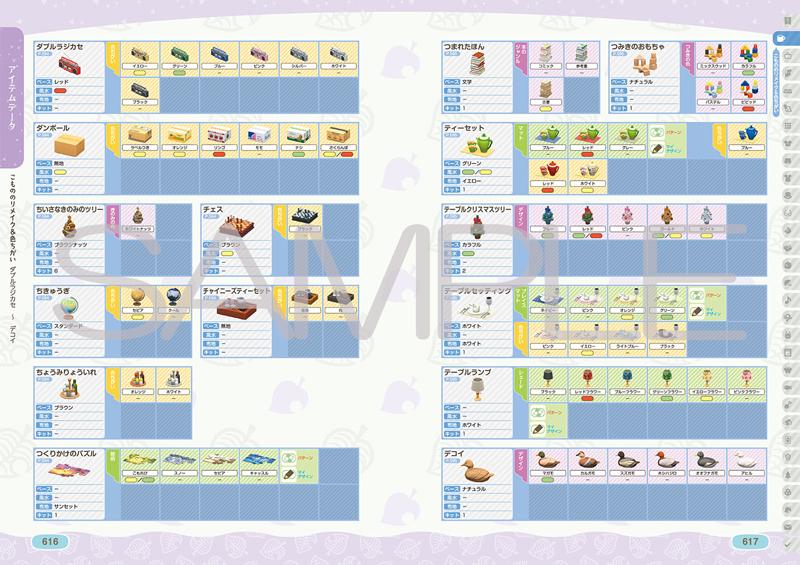 写真は、アイテムデータのページのサンプル(提供:KADOKAWA)