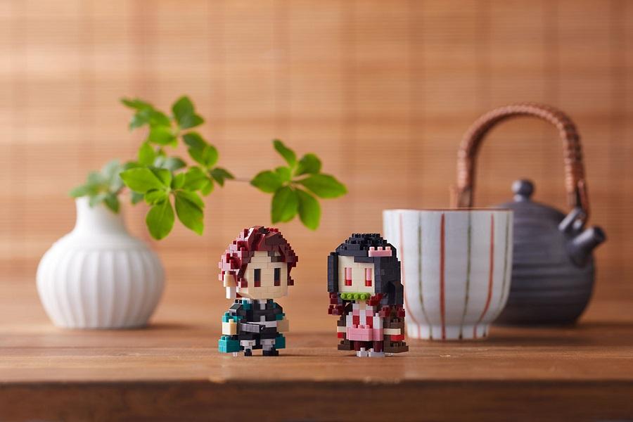 写真は、炭治郎と禰豆子のコラボグッズ(提供:アニプレックス)