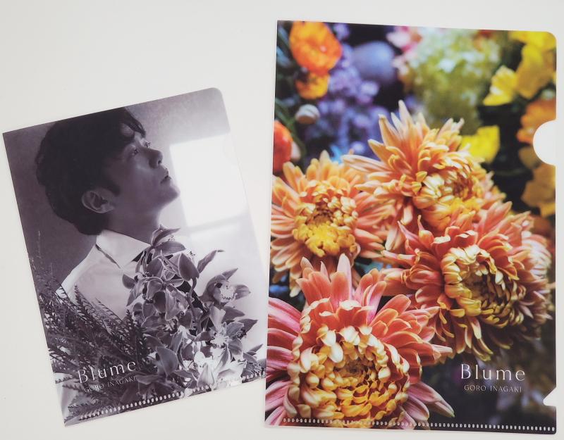 画像は、『Blume』(宝島社)付録のクリアファイル 撮影:BOOKウォッチ編集部