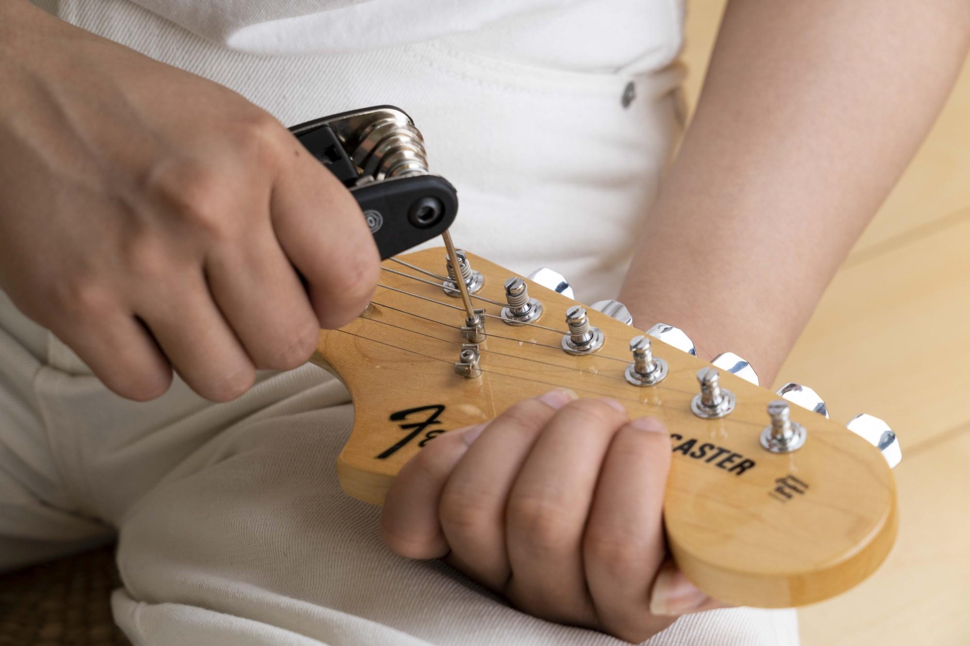 楽器の調整もできて便利