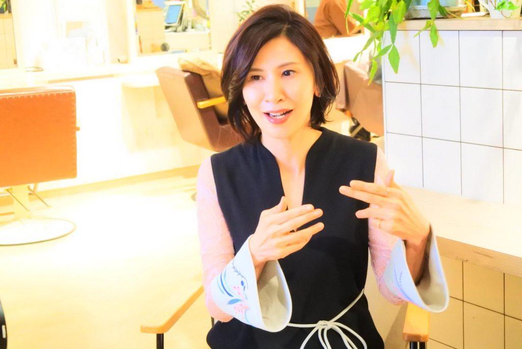 画像は、イメージコンサルタントの福山真由美さん