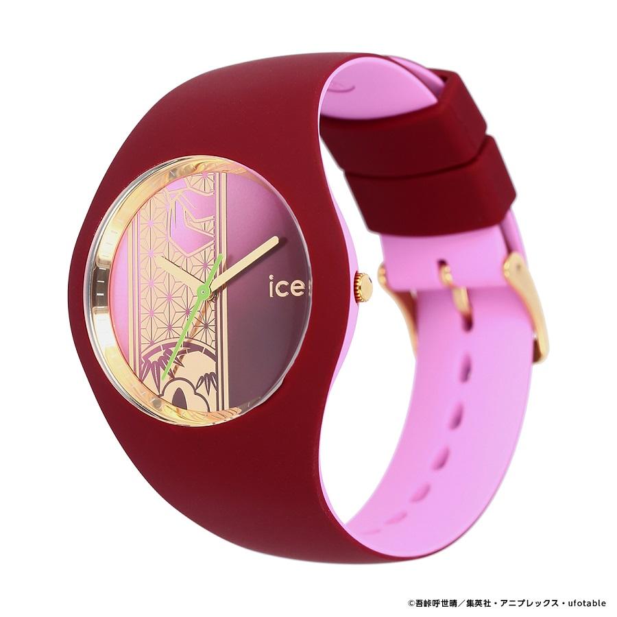 写真は、禰豆子モデルの腕時計(提供:アニプレックス) (C)吾峠呼世晴/集英社・アニプレックス・ufotable