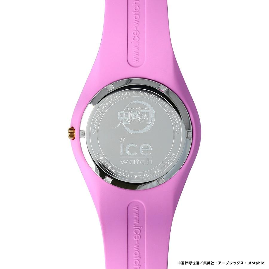 写真は、禰豆子モデルの腕時計の裏側(提供:アニプレックス) (C)吾峠呼世晴/集英社・アニプレックス・ufotable
