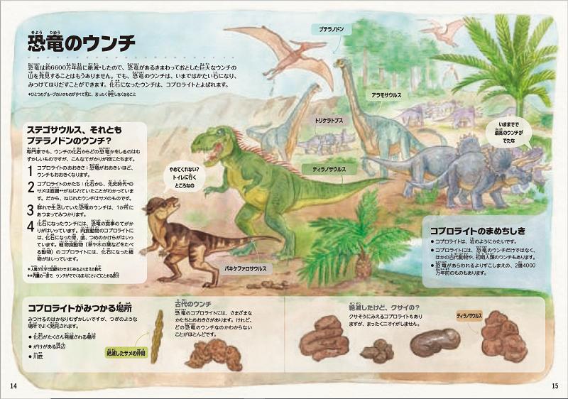 恐竜のウンチから何がわかる?