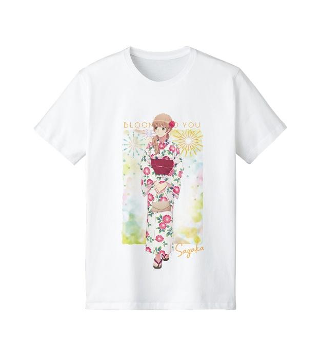 描き下ろしイラスト 佐伯沙弥香 浴衣ver. Tシャツ