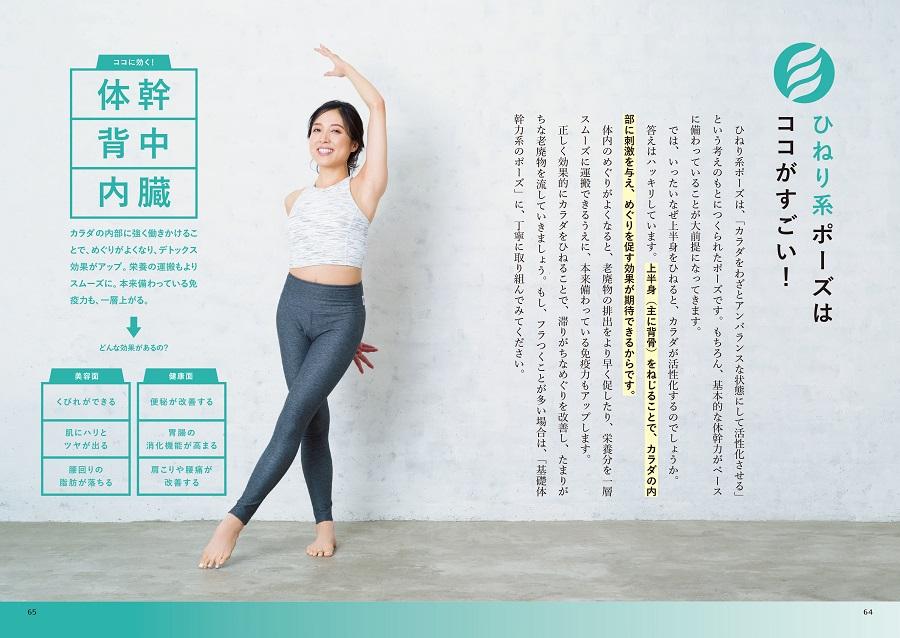 写真は、ひねり系ポーズのページ(C)山谷夏未/リブレ