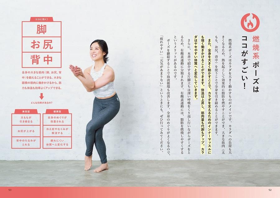 写真は、燃焼系ポーズのページ(C)山谷夏未/リブレ
