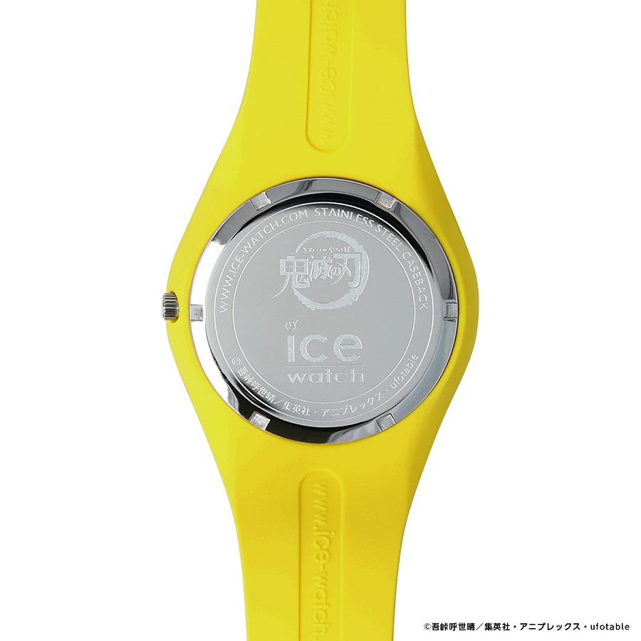 写真は、善逸モデルの腕時計の裏側(提供:アニプレックス) (C)吾峠呼世晴/集英社・アニプレックス・ufotable