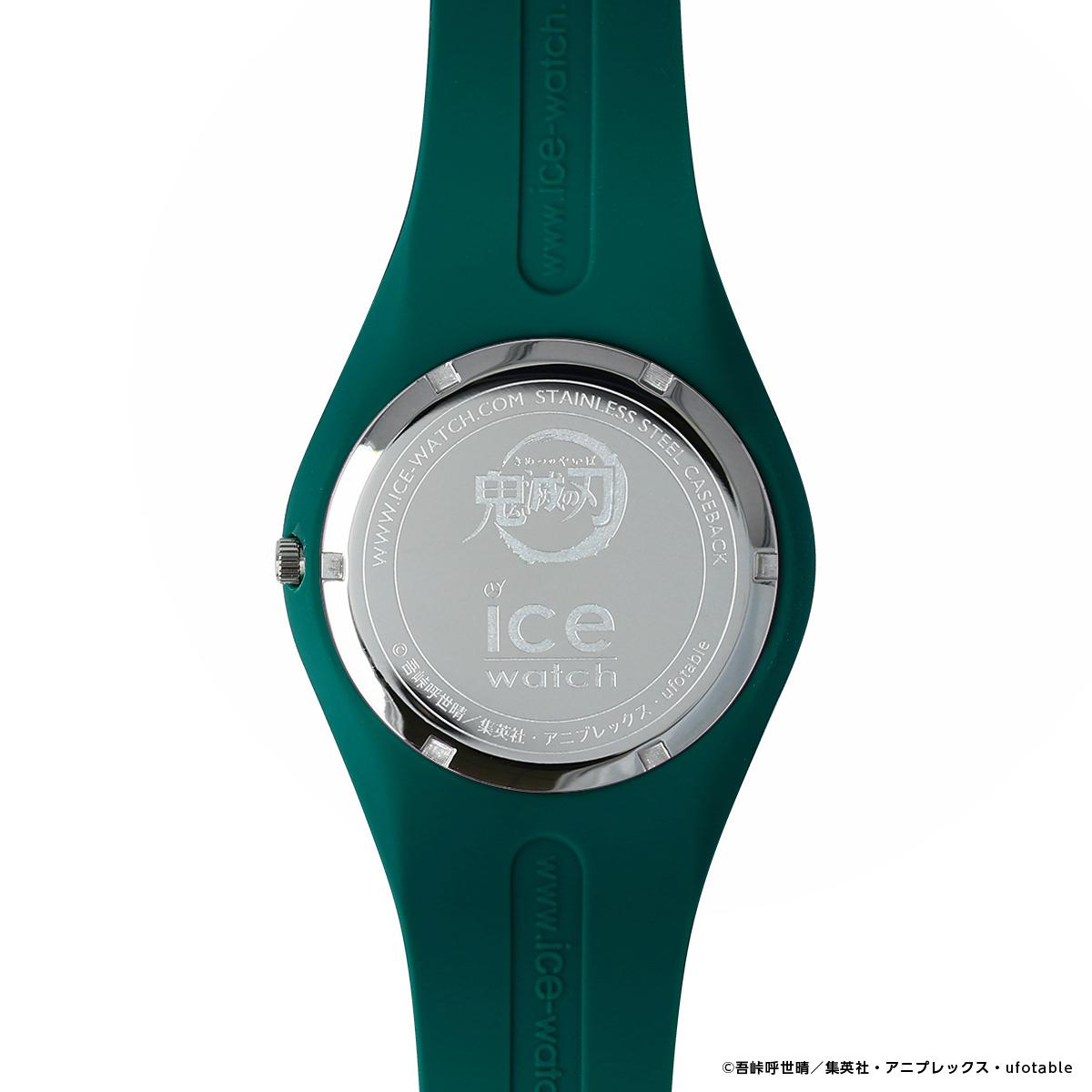 写真は、炭治郎モデルの腕時計の裏側(提供:アニプレックス) (C)吾峠呼世晴/集英社・アニプレックス・ufotable