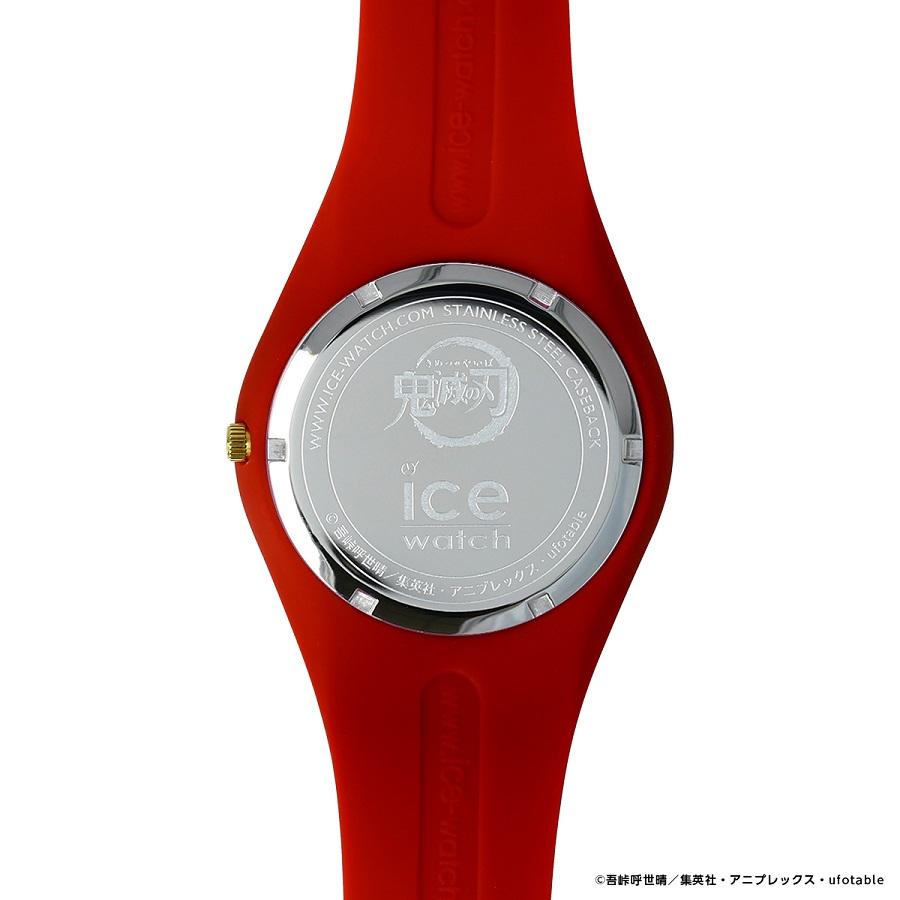 写真は、煉獄モデルの腕時計の裏側(提供:アニプレックス) (C)吾峠呼世晴/集英社・アニプレックス・ufotable