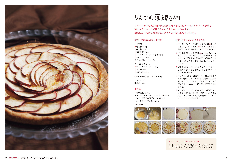 「りんごの薄焼きパイ」のレシピページ