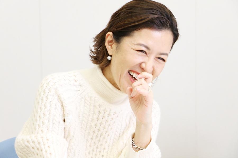 著者の大草直子さん 撮影:BOOKウォッチ編集部(以下、同)