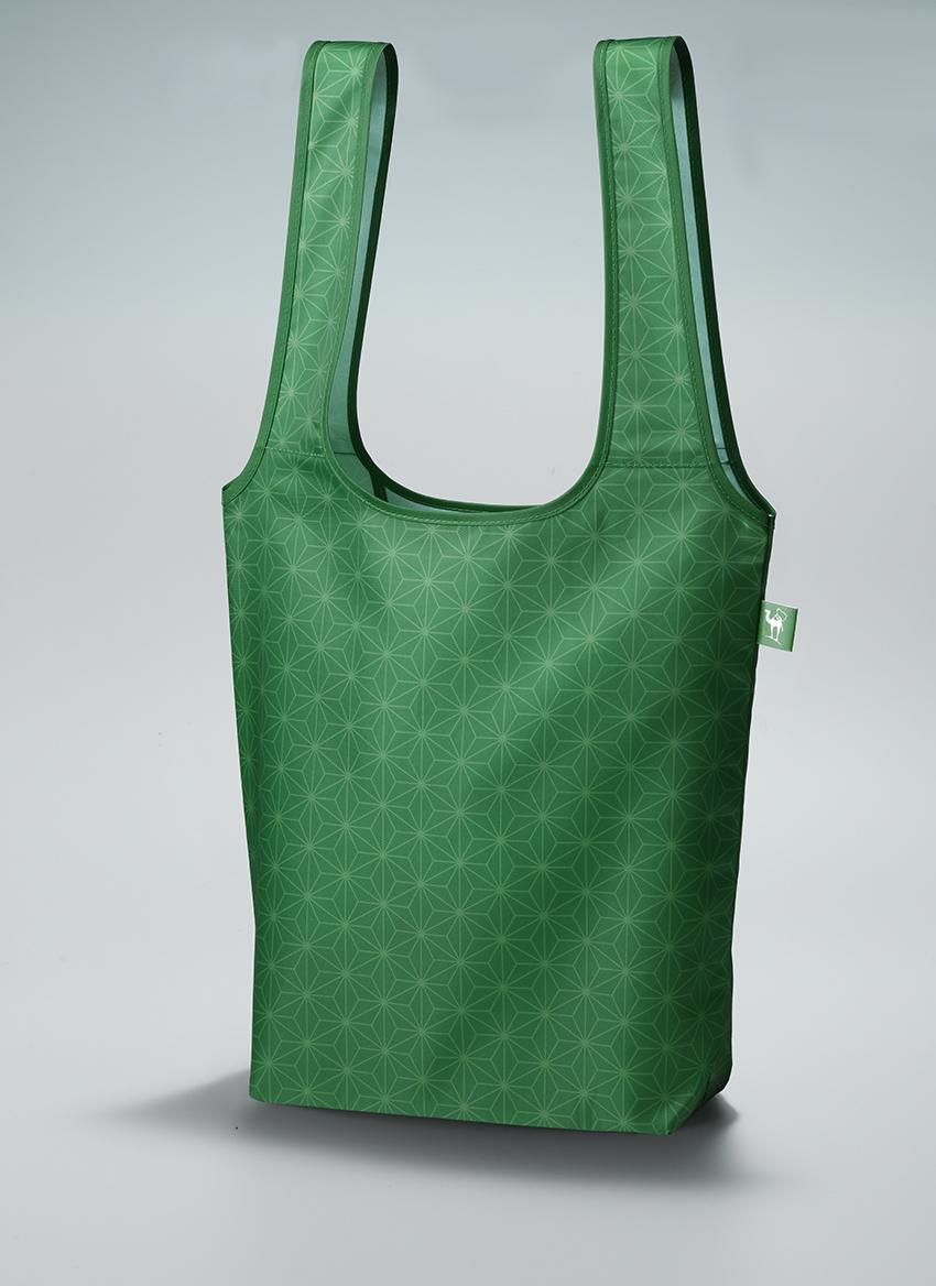 画像は、2021年1月号の付録サライ謹製「麻の葉」柄エコバッグ