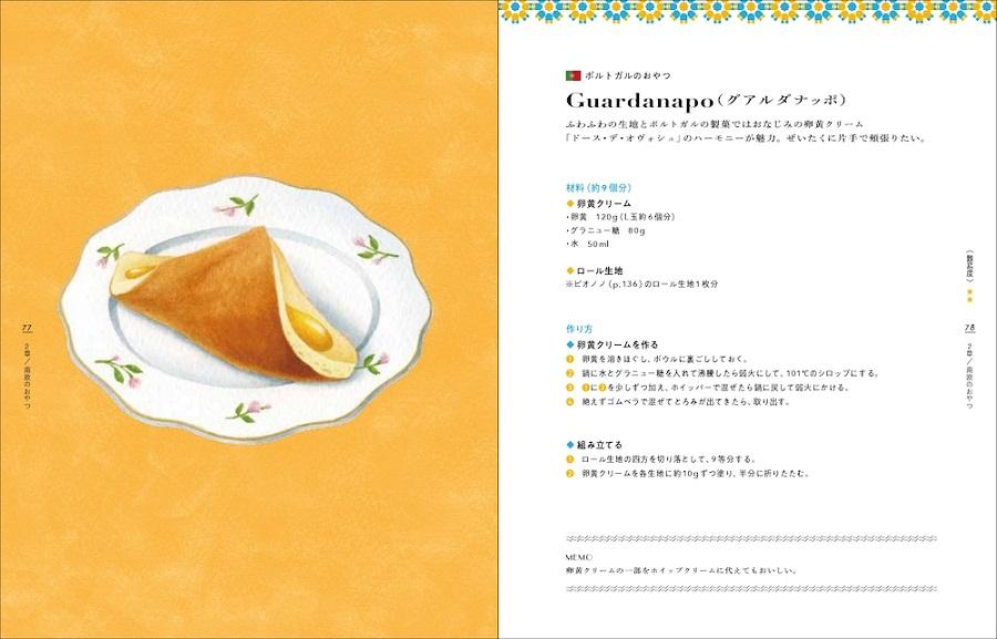 写真は、グアルダナッポのレシピ(提供:パイ インターナショナル)