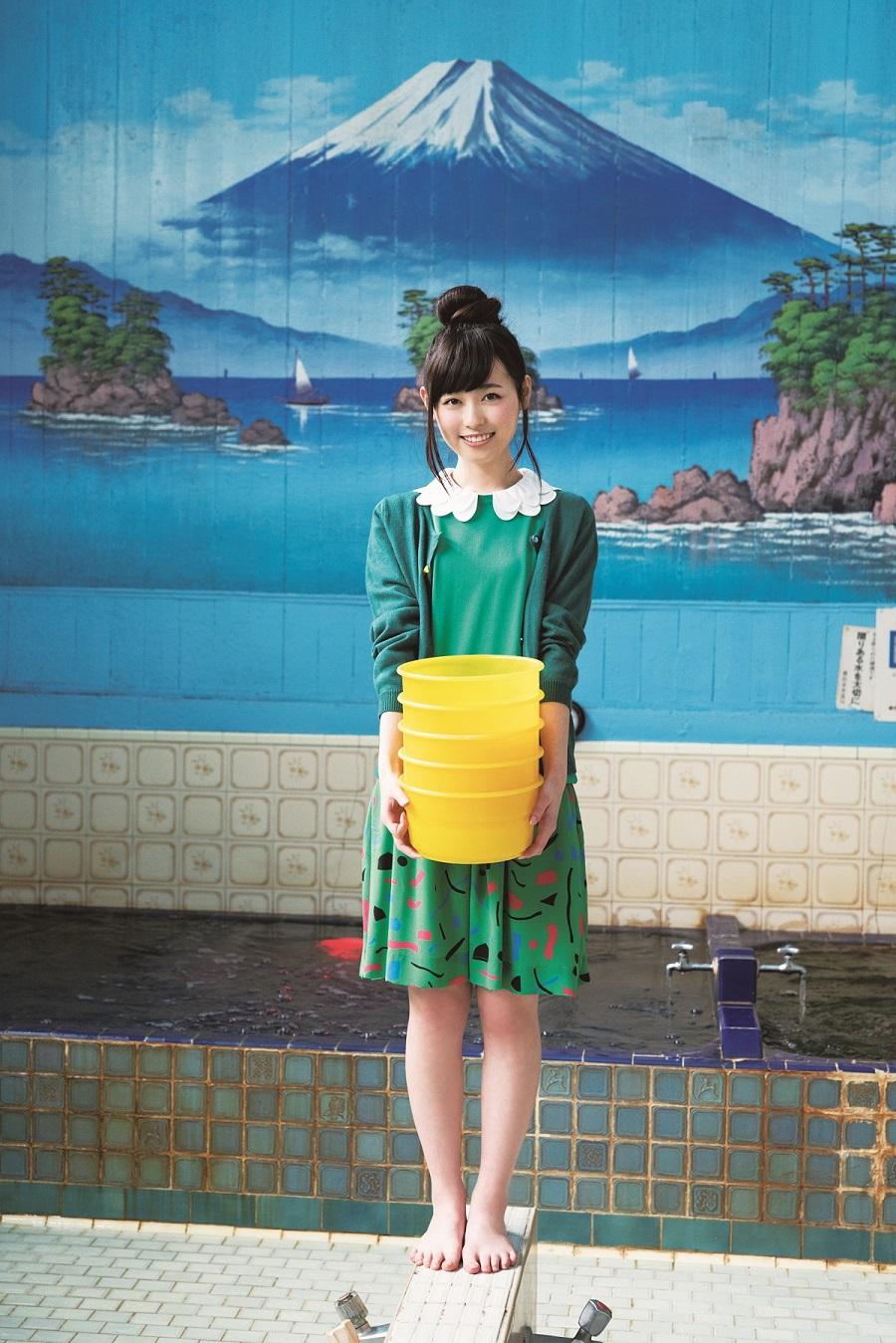 写真は、銭湯でのショット(撮影は佐藤佑一さん)(提供:東京ニュース通信社)