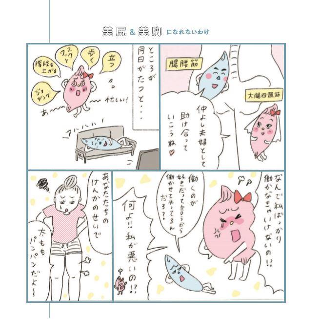写真は、筋肉の仕組みを解説する漫画(提供:学研ホールディングス)