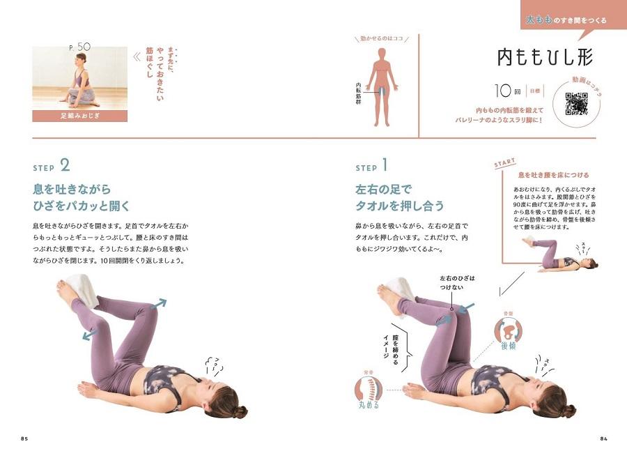 写真は、なまけ筋を目覚めさせるトレーニング(提供:学研ホールディングス)