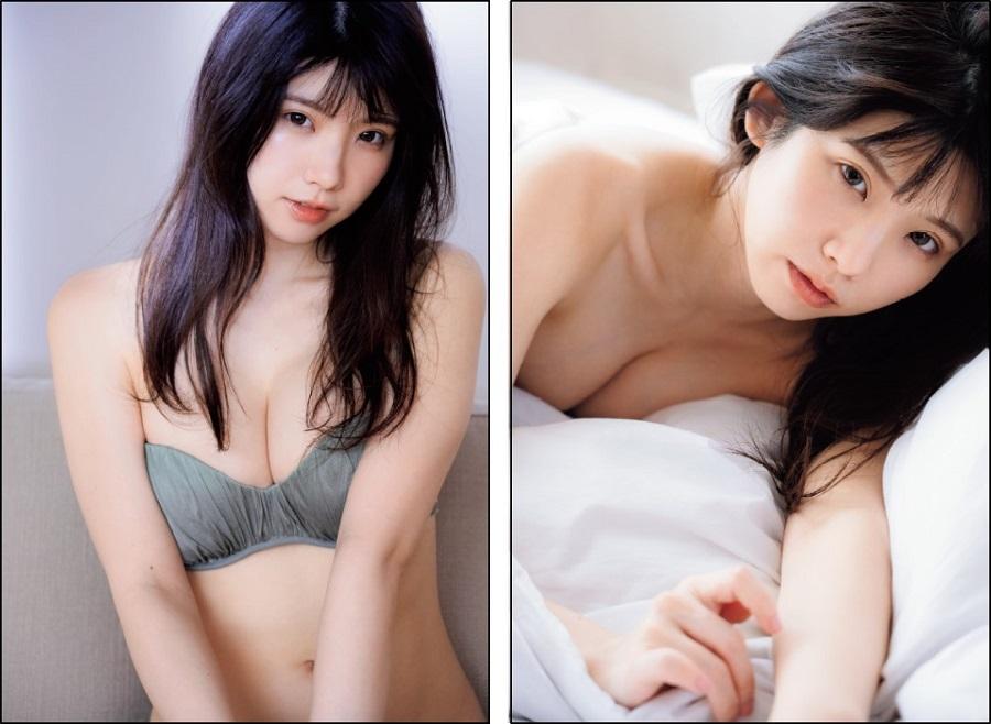 写真はえなこさんの両面ポスター(提供:宝島社)
