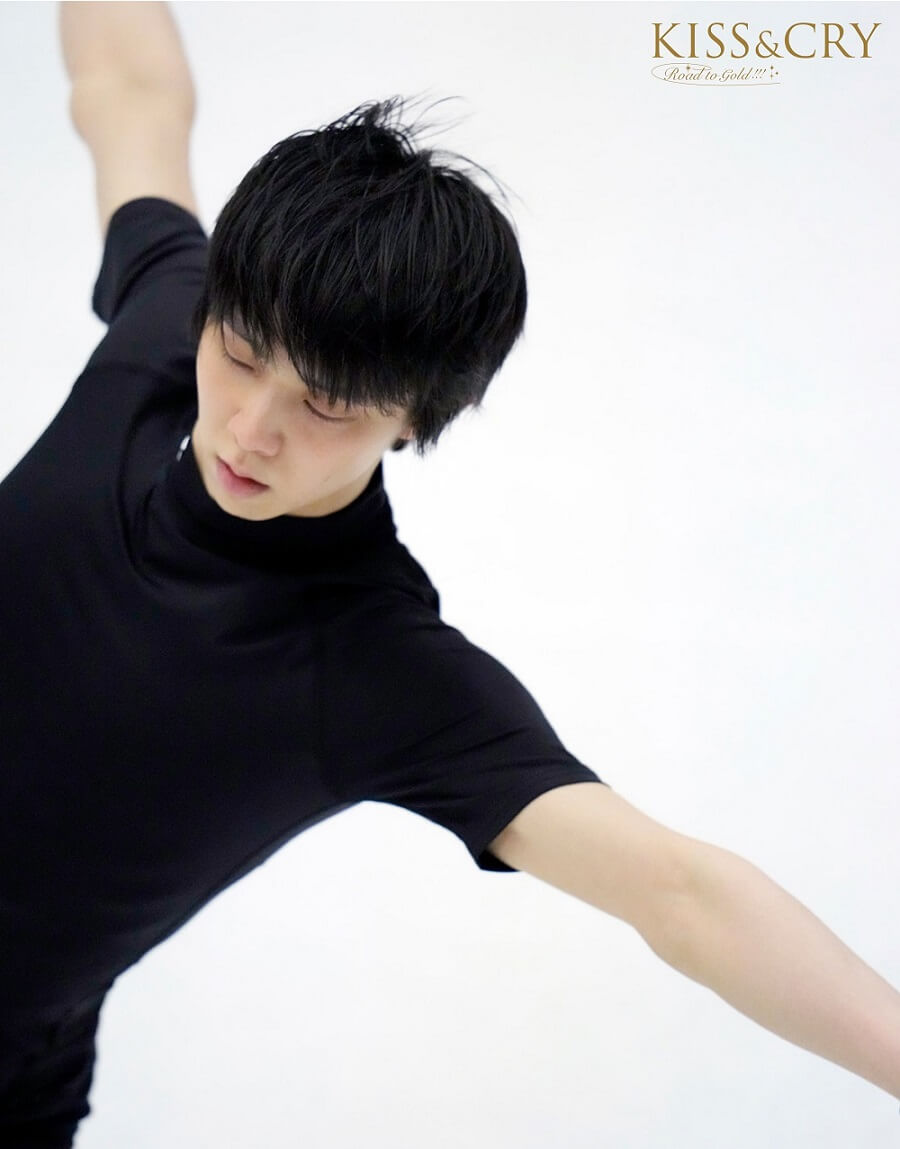 写真は練習着姿の羽生さん(提供:東京ニュース通信社)