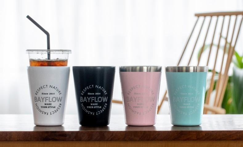 写真は「BAYFLOW CUP COFFEE TUMBLER」(提供:宝島社)