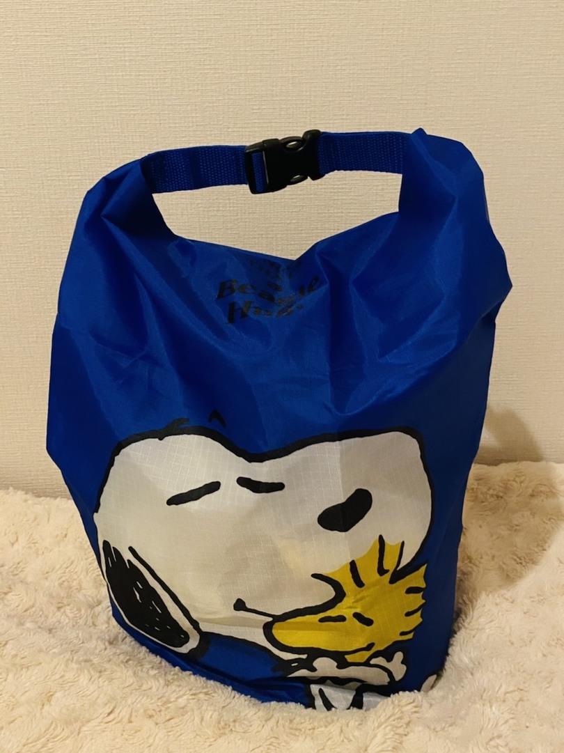 【これ、付録です!】くるっとサイズ調節できちゃう!スヌーピーのスタッフバッグ