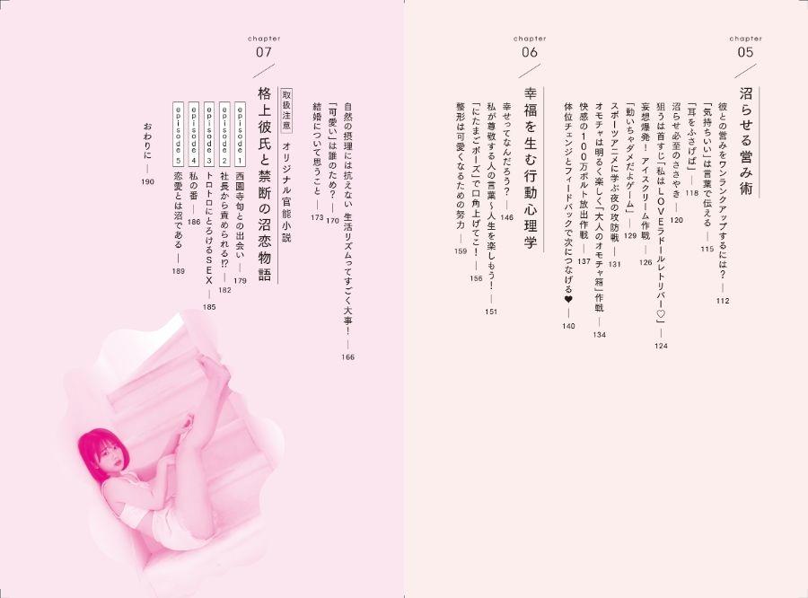 画像は目次の3,4ページ目(提供:KADOKAWA)